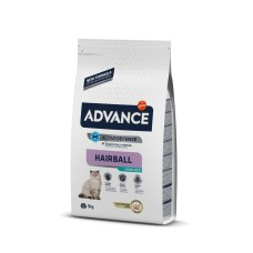 Advance Hindili Hairball Tüy Yumağı Önleyici Kısırlaştırılmış Kedi Maması 3kg